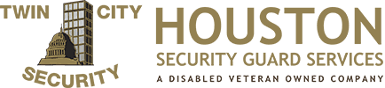 Houston Security Guard Services Logo